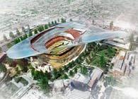 Vision for a new NFL & USC Football Home in Los Angeles (Conceptual)