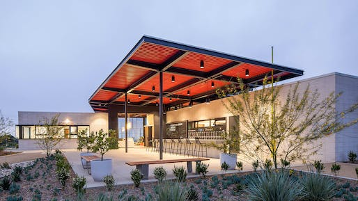 ​DESIGN AWARD - MERIT: Ehrlich Yanai Rhee Chaney Architects, Stoneview Nature Center, Culver City, CA. Photo: Paul Turang Photography.