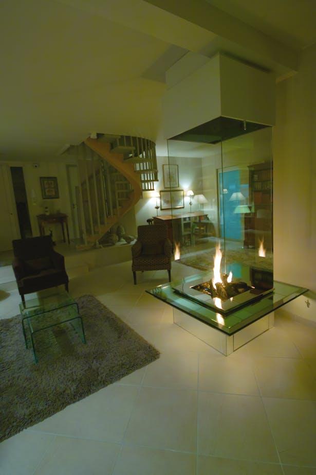 Bloch Design fireplace 7