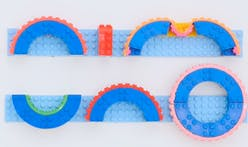 "Up your LEGO-building game with the Nimuno Loops ""LEGO-compatible tape"""