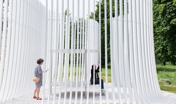 Inside Asif Khan's Serpentine Pavilion Summer House