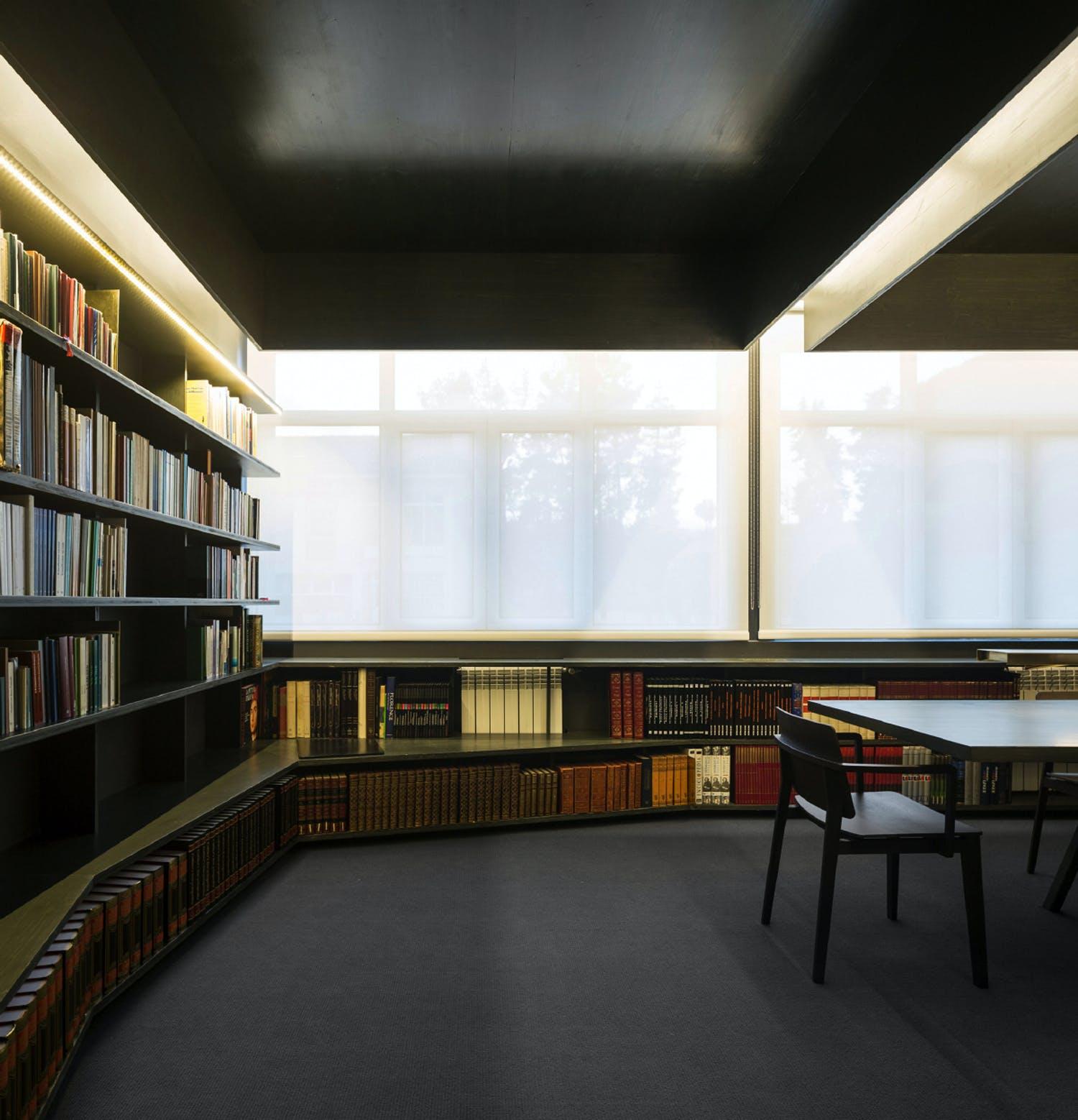 2015 FAD Interior Design Award Biblioteca So Paulo By Patricia Marques And J Costa Photo Credit FG SG Fernando Guerra