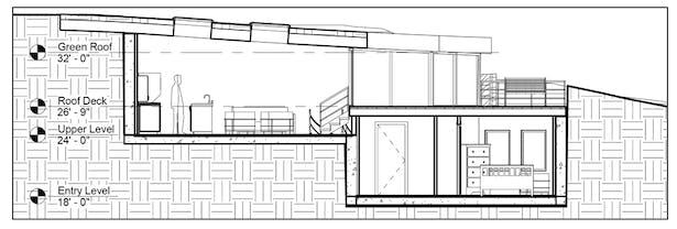 TERRAIN HOUSE 800 © Section
