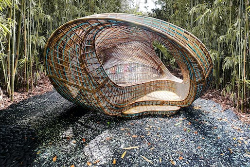 UNStudio's Ellipsicoon by Ben van Berkel with Ren Yee and Philipp Meise, and Peng Wang. Image: Revolution Precrafted.