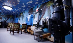 Take a look at the tropical island-themed nuclear shelters popping up in Japan