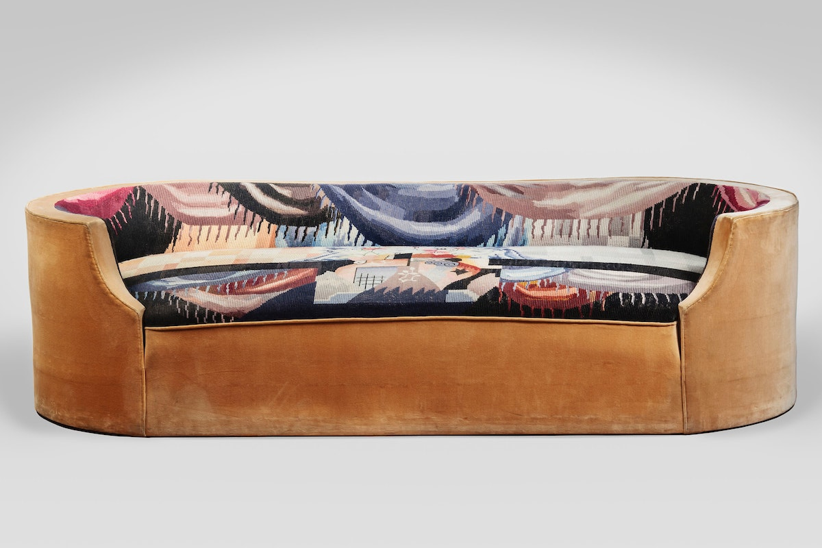 Superior Corbeille Sofa (MP169), 1923, Designed By Pierre Chareau (French, 1883