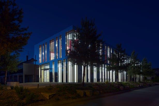 facade by night - Didier Boy de la Tour