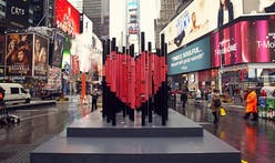 """We Were Strangers Once Too"", the 2017 Times Square Valentine Heart winner, shows love to NYC's immigrants"