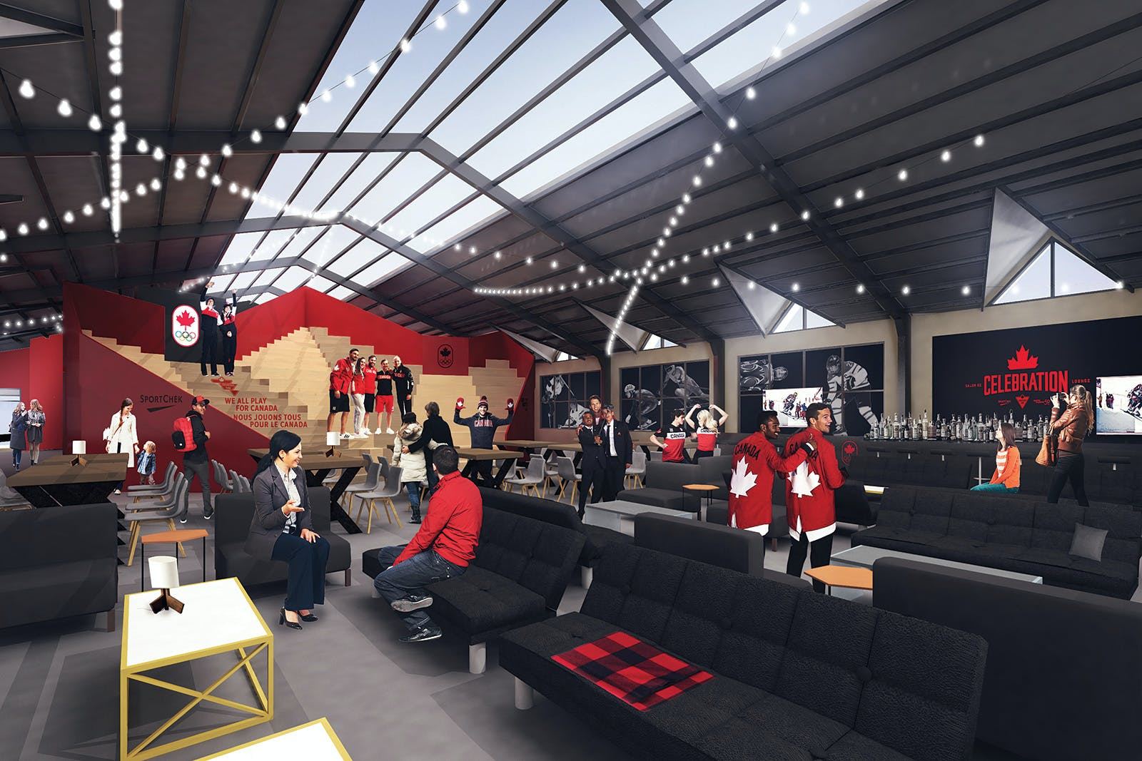 d0b48459032 Canada Olympic House at the Olympic Winter Games PyeongChang 2018. Image  courtesy of Canadian Olympic