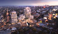 Frank Gehry's renderings for L.A.'s Sunset Strip revealed