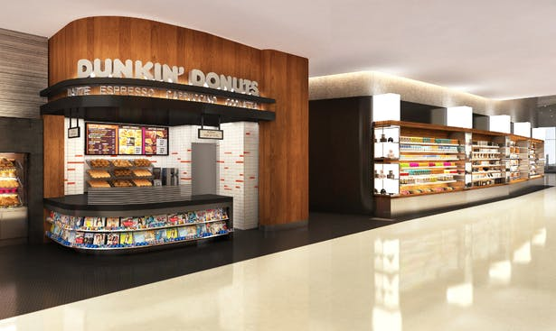 Dunkin Donuts concept design
