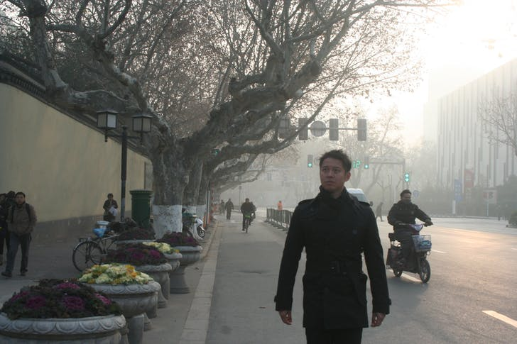 Pomeroy in Nanjing, China. Image courtesy of Pomeroy Studios.