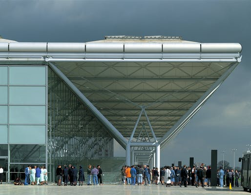 1994 - Stansted Airport, United Kingdom. Photo credit: Foster + Partners