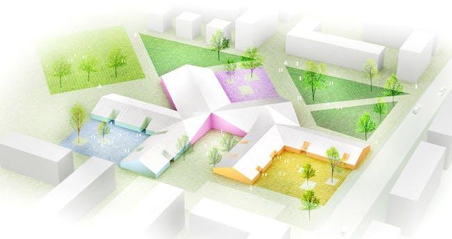Aerial view (Image: Architects Rudanko + Kankkunen)