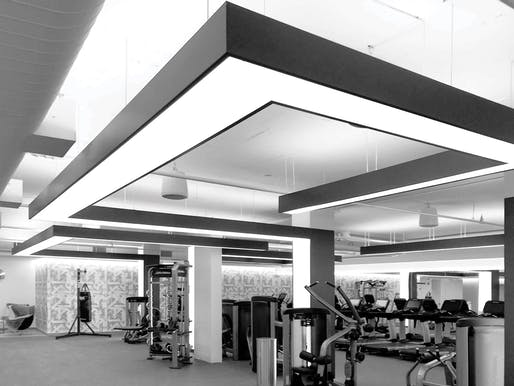 Award of Merit: Park Tower Health Club | New York, NY. Photo: Brent Gollnick.