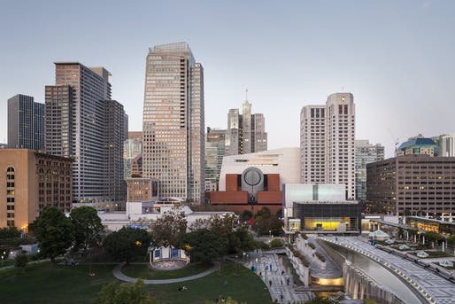 The new SFMOMA, view from Yerba Buena Gardens; photo: © Henrik Kam, courtesy SFMOMA.