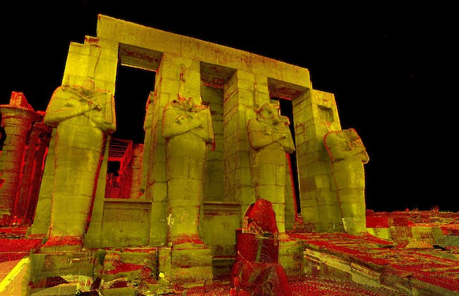 Thebes. one of the 500 digitally preserved cultural sites. Image courtesy of CyArk.