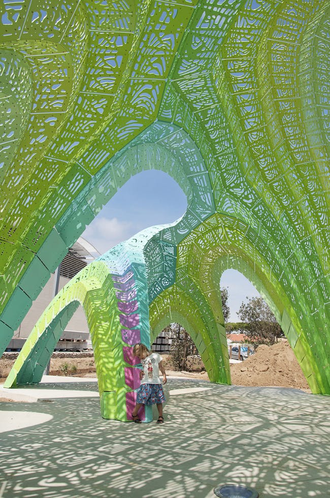 Pleated Inflation in Argelès, France by THEVERYMANY