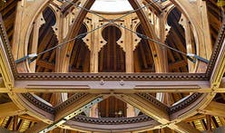 Hidden historic ceiling found in University of Toronto reading room