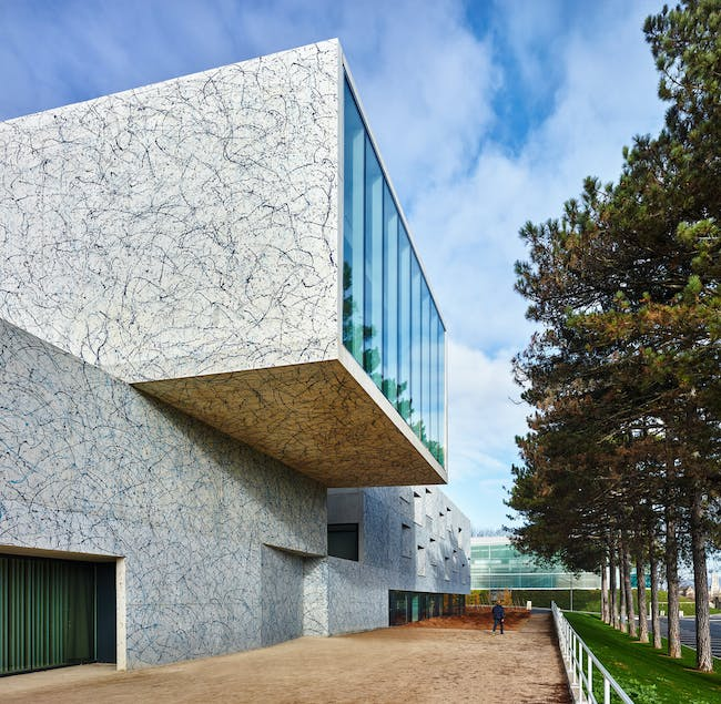 Conservatoire of Music, Dance and Dramatic Arts in Belfort, France by Dominique Coulon & associés; Photo: Eugeni Pons