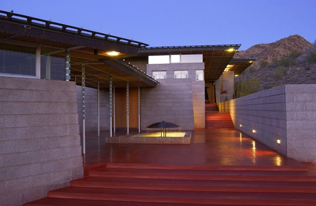 Price house - Frank Lloyd Wright.