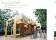 Design Build Studio: space for behavioral exhibit