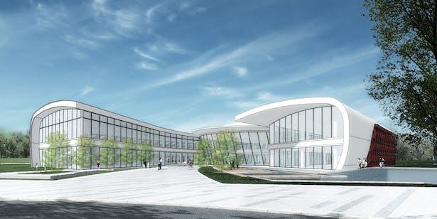 Office / Ding Shu General Airport, Yixing Dushu, China / Cordogan Clark & Associates with Hanson