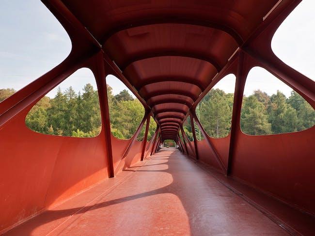 Footbridge in Esch-sur-Alzette, Luxembourg by Ney & Partners with Metaform Atelier d'Architecture