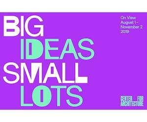 Big Ideas Small Lots