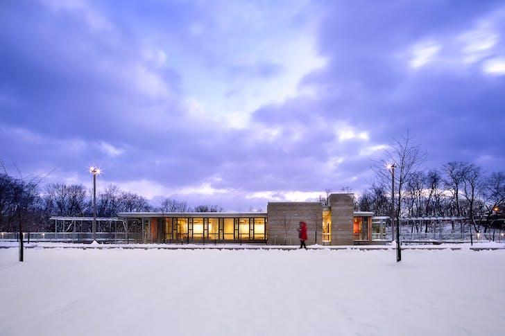 Frick Environmental Center. Photo: Denmarsh Photography.