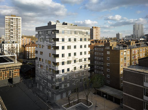 Murray Grove by Waugh Thistleton Architects. Photo: Will Pryce.