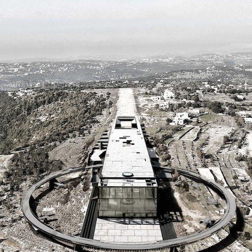 Sports and Recreational Building Award Winner – Breathing new Life into Abandoned Airstrip by Ali Amine Al haj Sulayman (Lebanon)
