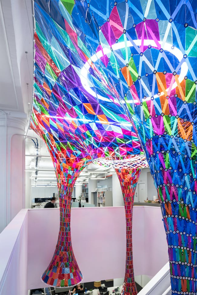 Behance in New York, NY by SOFTlab; Photo: Alan Tansey
