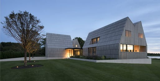 One- and Two-Family Custom Residences Category winner: Georgica Cove in East Hampton, NY by Bates Masi + Architects
