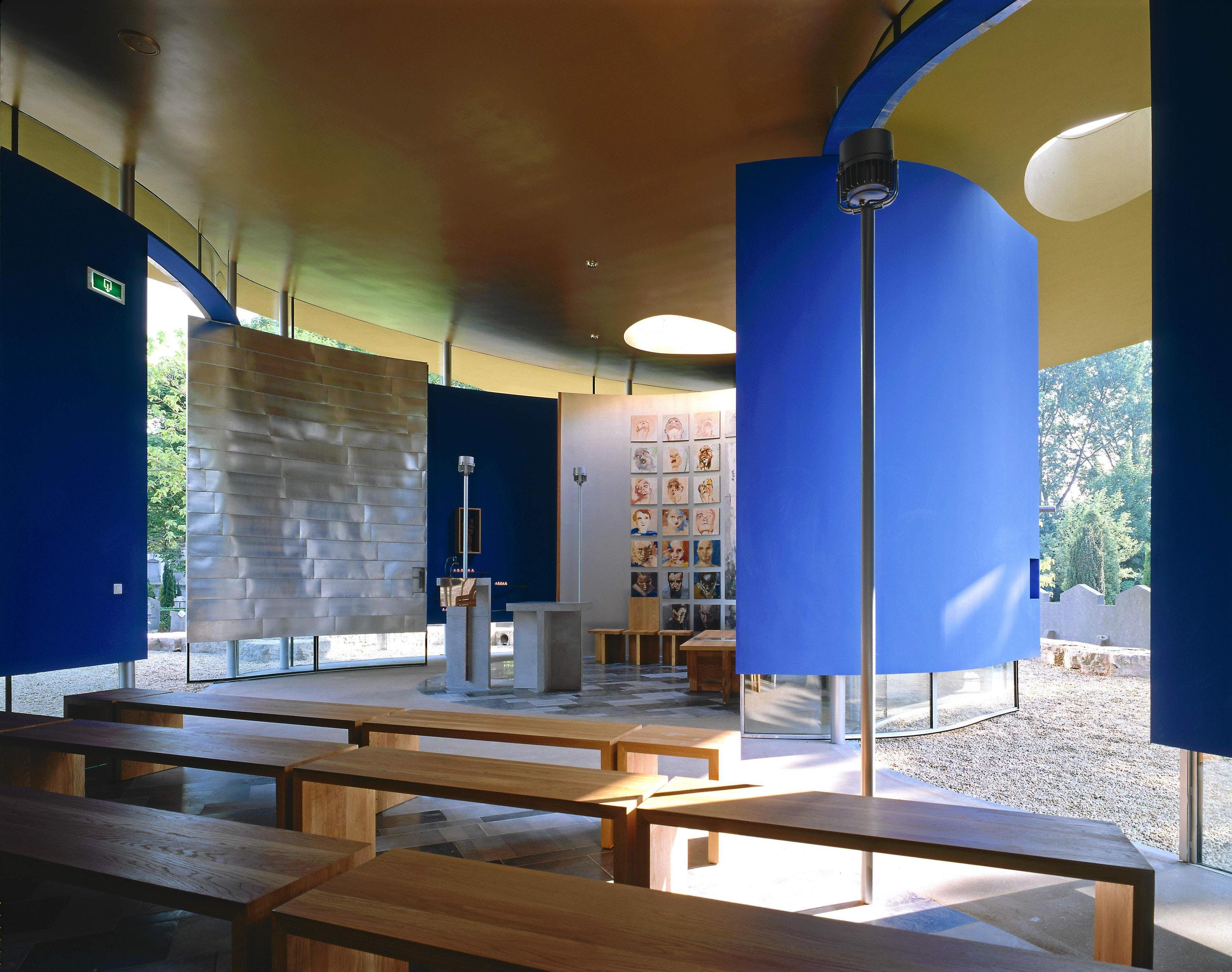 St Mary Of The Angels Chapel Mecanoo Archinect