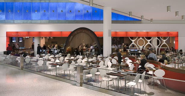 Jet Blue Terminal 5 Jfk Airport Icrave Archinect