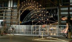 ACADIA's 'Wooden Structures' workshop takes a hack at automated fabrication of multi-species structures