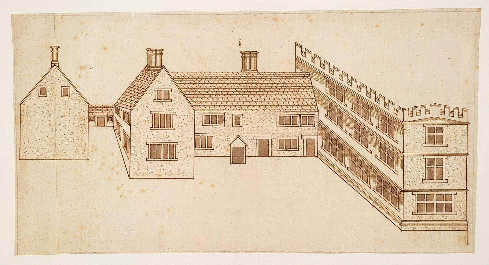 1600s Drawing By John Smythson