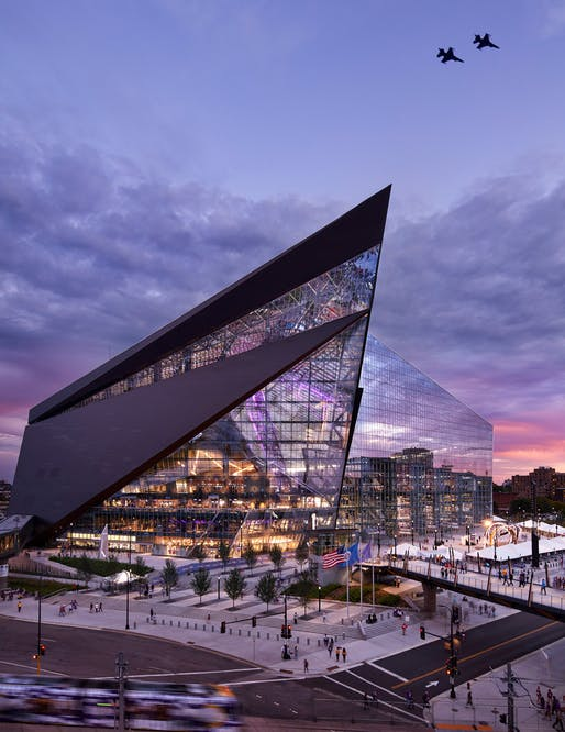 Sport - Completed Buildings Winner: HKS, U.S. Bank Stadium, Minneapolis, United States of America​.