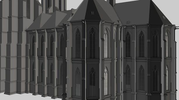 Marburg Cathedral Back Choirs