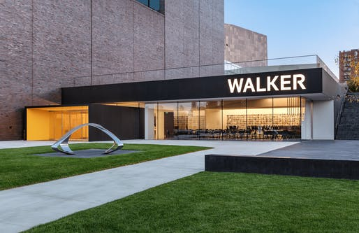 Walker Art Center, located in Minneapolis, renovation by HGA. Image: Paul Crosby Photography.
