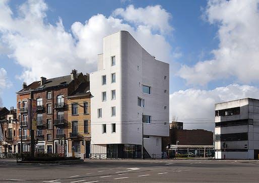 NAVEZ - 5 social units, Brussels, Belgium. Image credit: Serge Brison