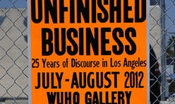 Exhibition Opening: UNFINISHED BUSINESS – 25 Years of Discourse in Los Angeles