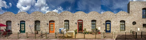 Health & Care: Burbridge Close, RM8 by Peter Barber Architects. Photo © Morley von Sternberg