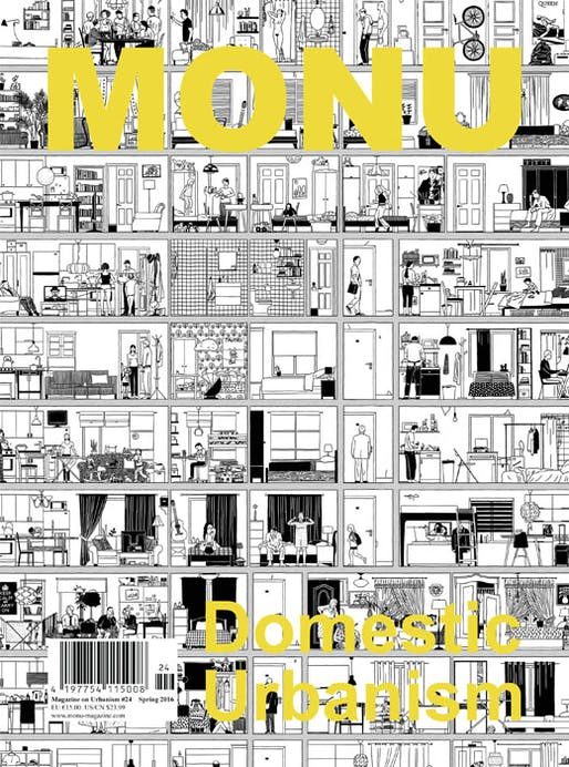Cover of MONU #24 - Domestic Urbanism