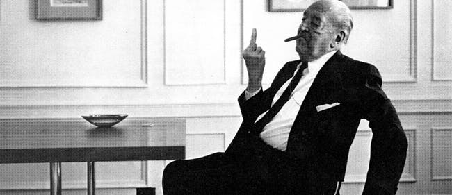 Ludwig Mies van der Rohe. Image via supportingfrankgehry.tumblr.com