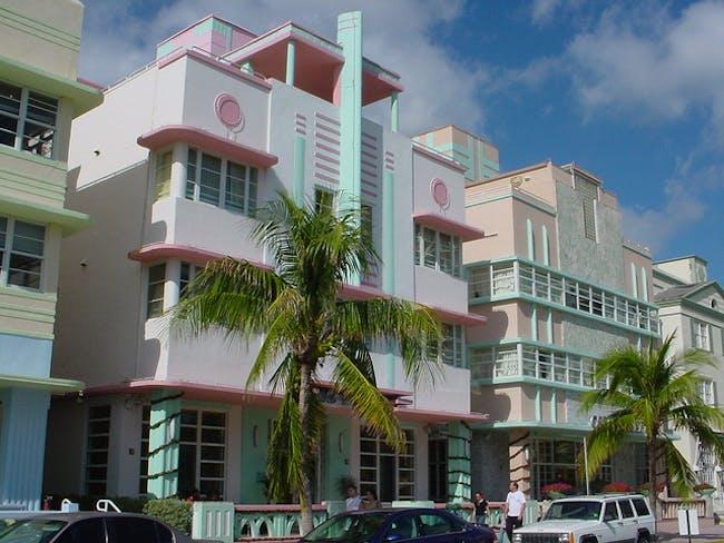 Miami Beach's Deco Drive. (Vasenka Photography / Flickr)