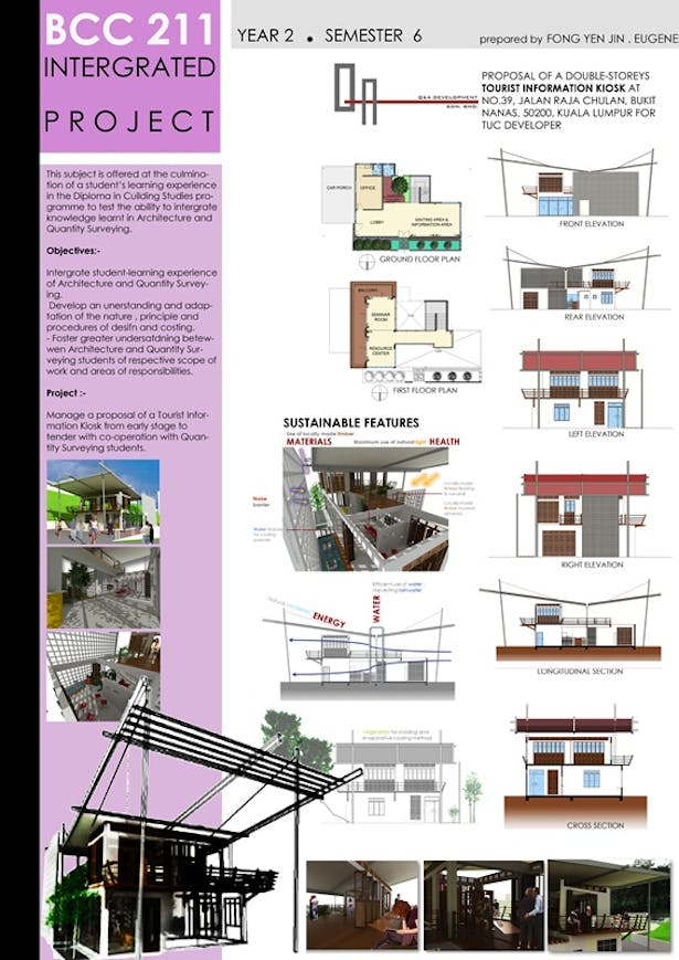 integrated project with Quantity Surveying students