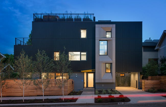 Park Passive (Seattle) by NK Architects. Photo © Aaron Leitz Photography