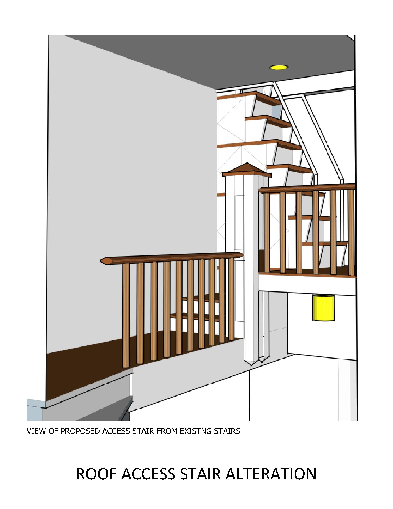 RESIDENTIAL   Roof Access Stair
